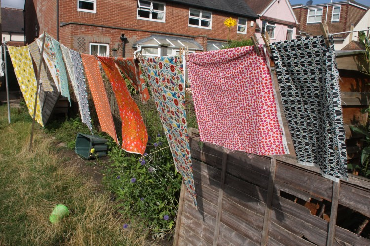 The post-festival of quilts fabric wash
