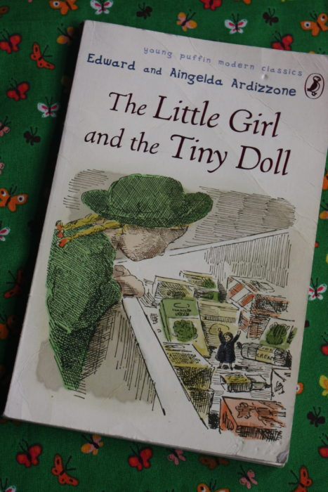 The cover of 'The Little Girl and the Tiny Doll' by Edward and Aingelda Ardizzone